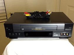 TOSHIBA W-528 VCR Video Cassette Recorder 4-Head Hi-Fi Stere