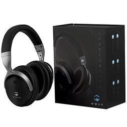 Paww WaveSound 2.1 Wireless Bluetooth 4.2 Over-the-Ear Folda
