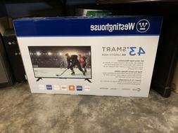 """Westinghouse WD43UB4530 43"""" 4K LED Internet TV - Black"""