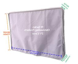 Weather Resistant Lined Protective Outdoor TV Cover For Aver