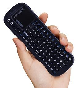 iPazzPort Wireless Bluetooth Mini Handheld Keyboard with Tou