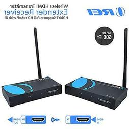 OREI Wireless HDMI Transmitter Extender Receiver HDbitT Supp