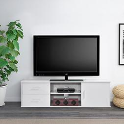 Ej. Life Wooden Single-door TV Stand TV Unit Storage Console