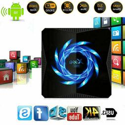 X96Q Max 4K Android 10.0 Core 4GB+32GB TV BOX 2.4/5G WIFI 3D