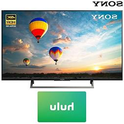 Sony XBR-49X800E 49-inch 4K HDR Ultra HD Smart LED TV  w/Hul