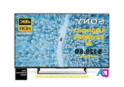 SONY XBR43X800E 43-Inch 4K Ultra HD Smart LED TV FEB 2019 -
