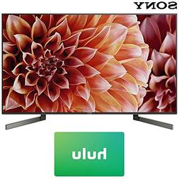 Sony XBR49X900F 49-Inch 4K Ultra HD Smart LED TV  with Hulu