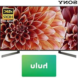 Sony XBR55X900F 55-Inch 4K Ultra HD Smart LED TV  with Hulu