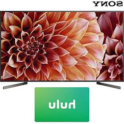 Sony XBR85X900F 85-Inch 4K Ultra HD Smart LED TV  + Hulu $10